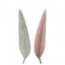 wholesale USB-Accessories: Poly eucalyptus leaf triad , sorted 2 colors L